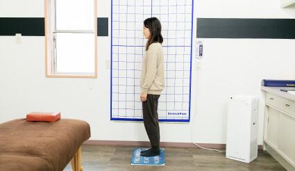 Shio整体院の施術の流れ 姿勢チェック
