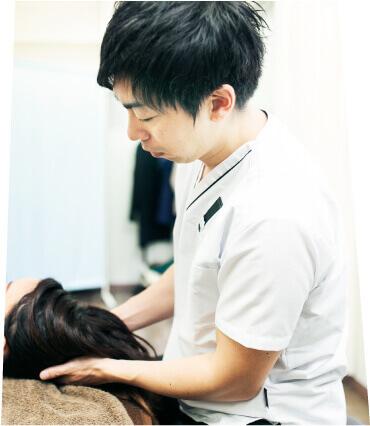 Shio整体院のヘッドマッサージ